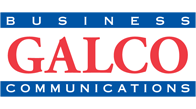 logo for local business galco business communications